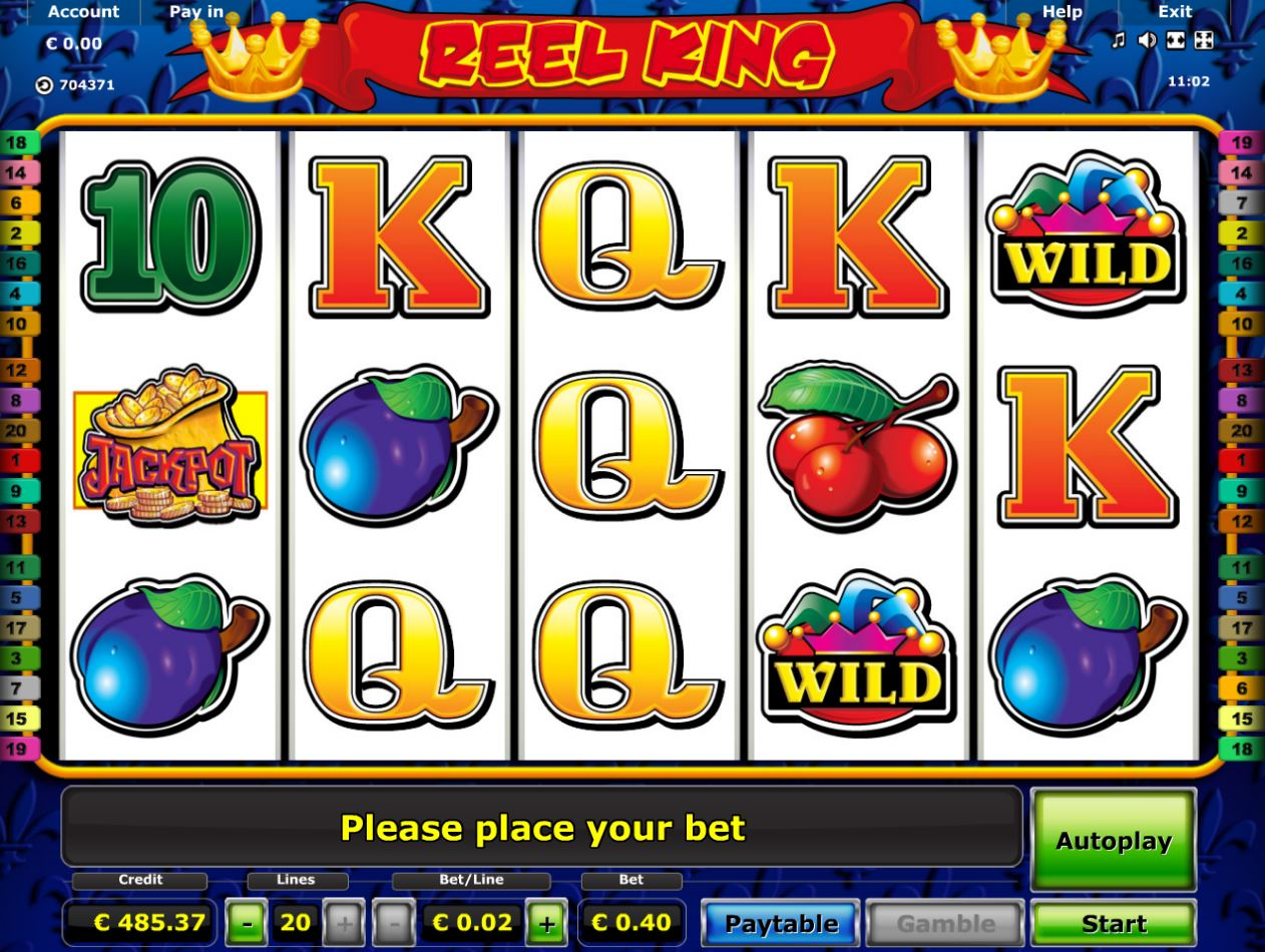 Spiele The Reel King Gold Records - Video Slots Online